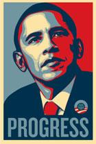 Affiche de Barack Obama