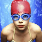 Jeune nageuse