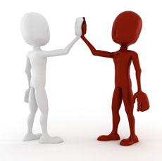 Accord passé entre deux personnes